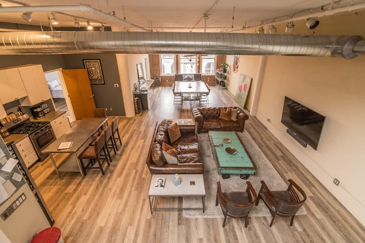 Full Penthouse Loft in Downtown STL