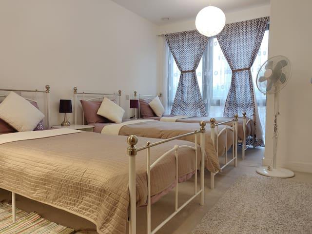 ☆ Cosy 3-bedroom 6-bed | close to ExCeL O2 & City