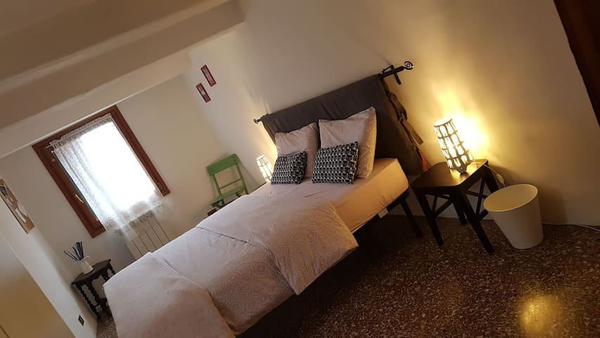 CozyBedroom-3min to Biennale-10min to S.Marco Sq.