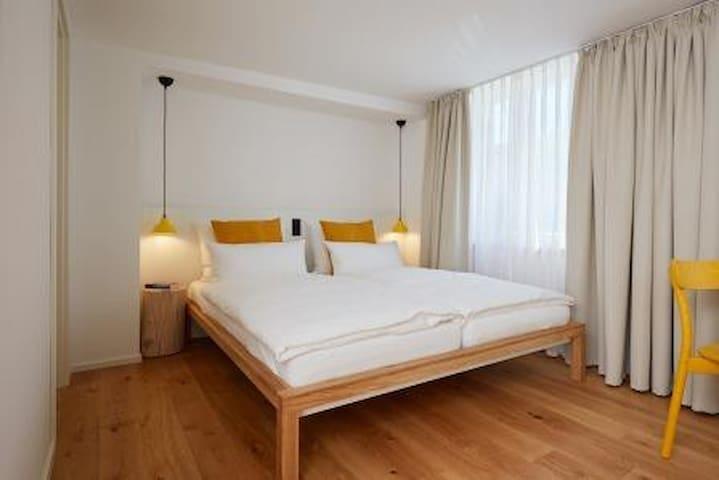 Sternen Bohlingen Aparthotel, (Singen-Bohlingen), Apartment zum Brunnen, 23qm, 1 Wohn-/Schlafzimmer, max. 2 Personen