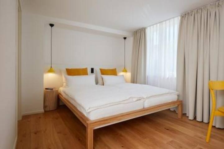 Sternen Bohlingen Aparthotel, (Singen), Apartment zum Brunnen, 23qm, 1 Wohn-/Schlafzimmer, max. 2 Personen