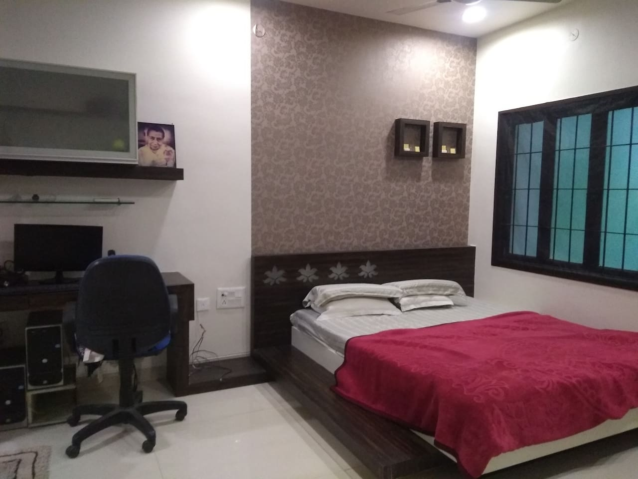 Our homely and comfortable , bedroom 1 ☺️