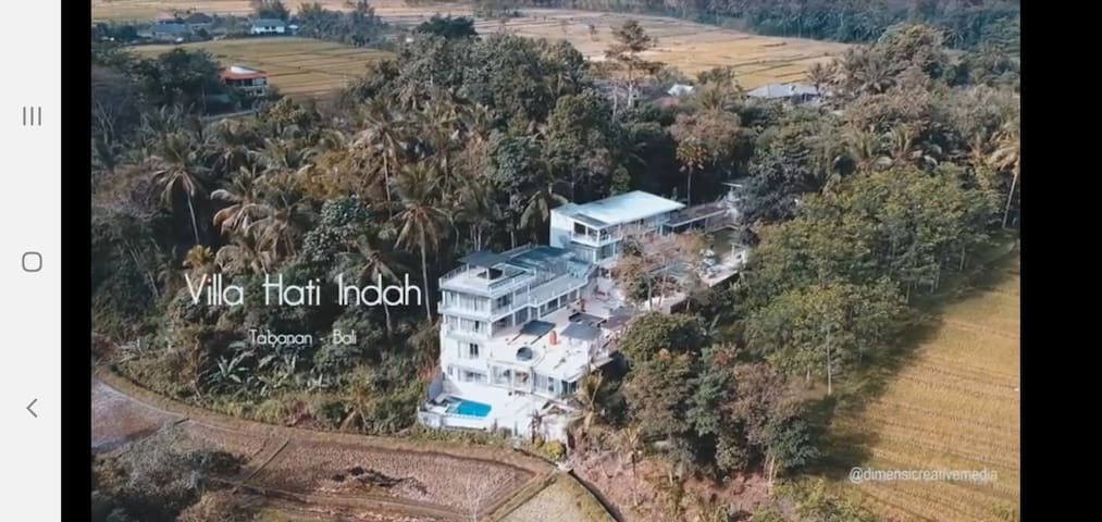Villa Hati Indah is an 8 bedroom luxury villa
