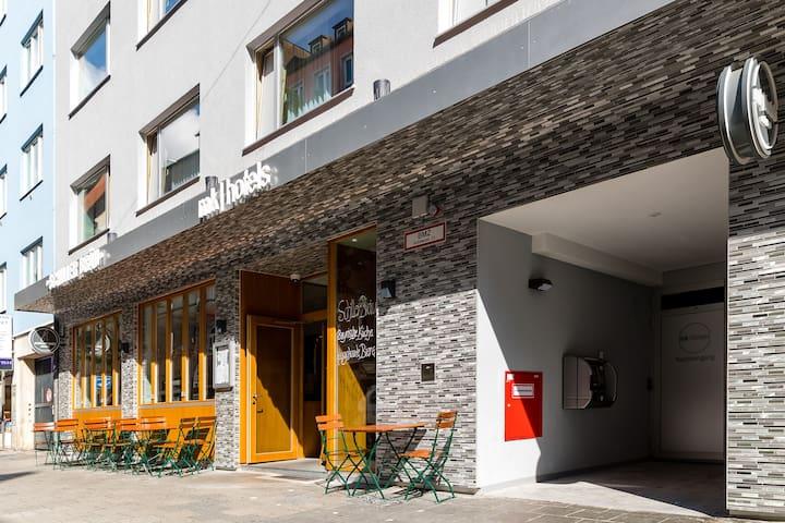 mk | hotel münchen city - Einzelzimmer Economy