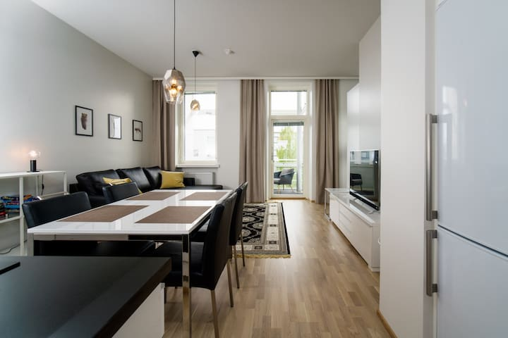 Premium 1br apt. with sauna in the heart of Oulu