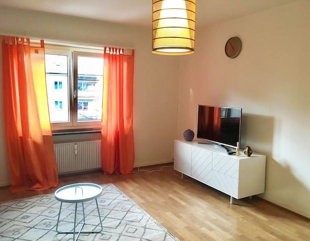 2.5 rooms (1BR) apartment-Badisher BH-Basel-4OG