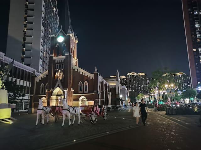 金融高新区简约时尚复式Loft近地铁近万达近广州南
