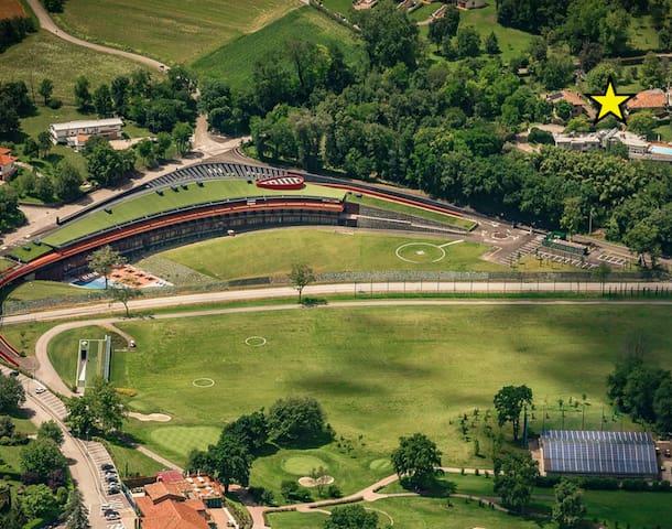 Closest villa to Udine Golf wellness