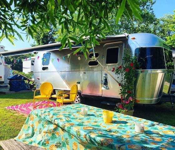 Aolani the Airstream at the Shore