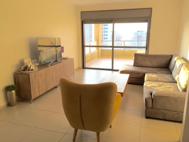 Ashdod front beach 3 bedrooms very nice view - Ashdod