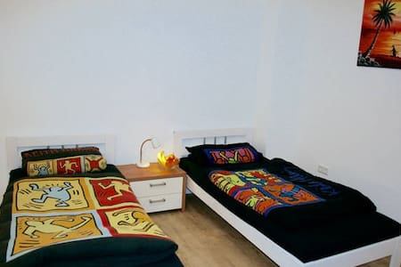 C2:PRIVATE ROOM, 2 PAX, SUPER CLOSE FAIR & AIRPORT - Düsseldorf