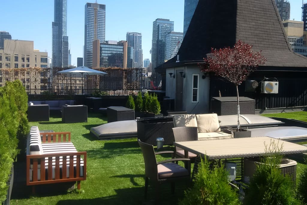 Private Rooftop Garden (accessible from 3rd Level)