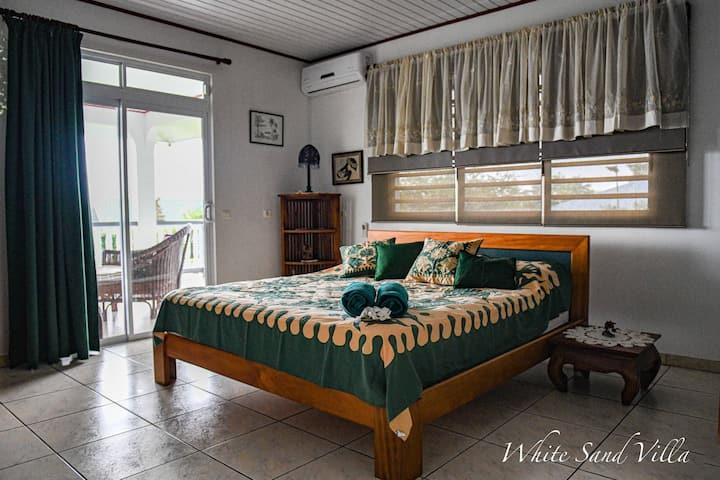 White Sand Villa - chambre privée Matie