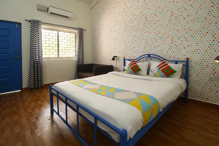 OYO 1BR Stay in Goa with a Lush Lawn