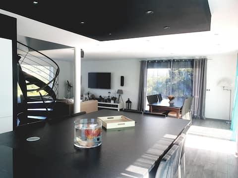 Agréable villa moderne
