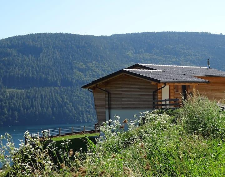Luxury home overlooking Lake Millstatt and Alps