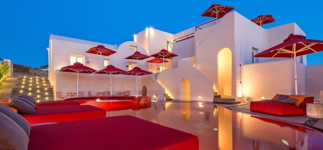 360 suite in Pyrgos - Pyrgos Kallistis - ที่พักพร้อมอาหารเช้า