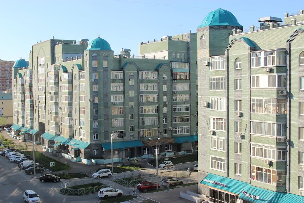 view on the Chistopol'skaya street