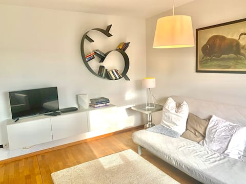 Apartment with terrace in the beautiful Briller district