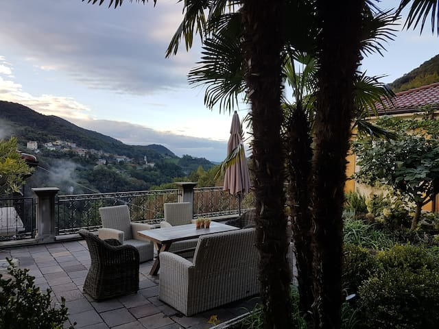Villa Oleandro Magic Retreat in Valle di Muggio