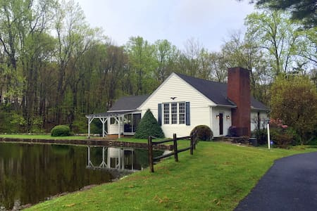 Country Home with pond and views - Boonton Township - Casa