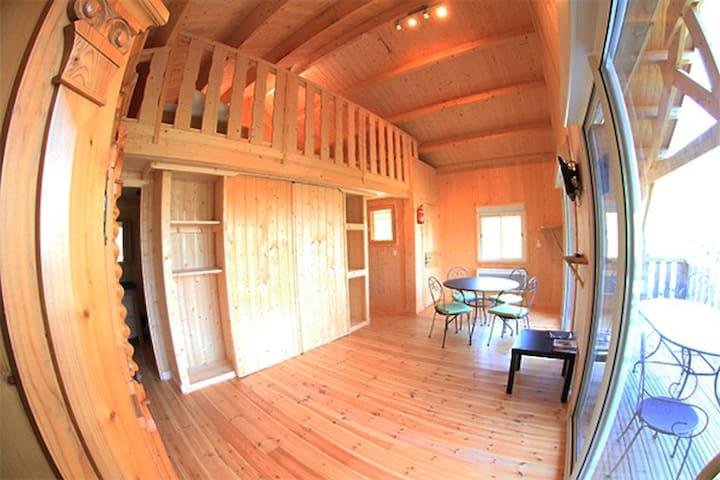 Lodge du Bétet - Serrières-sur-Ain - Cabin