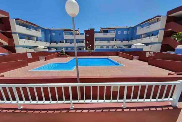 Apartamento con piscina en Puertito de Güimar