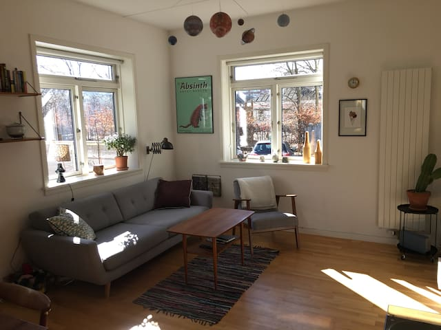 Modern & spacious apartment with big terrace - København - Apartment