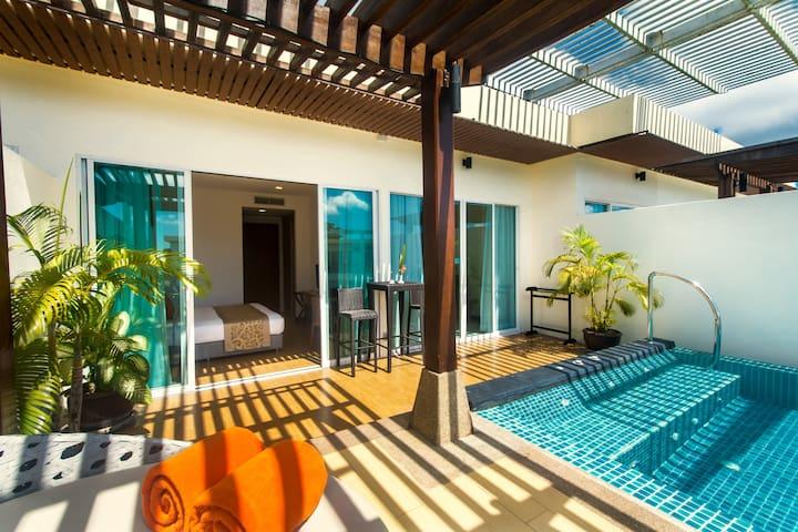 Pool Garden View Penthouse by Krabi Villa Company