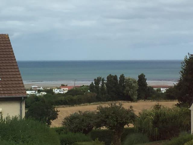 Chambre vue mer à 5min de la plage - Ver-sur-Mer