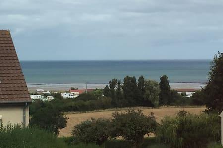 Chambre vue mer à 5min de la plage - Ver-sur-Mer - Dům