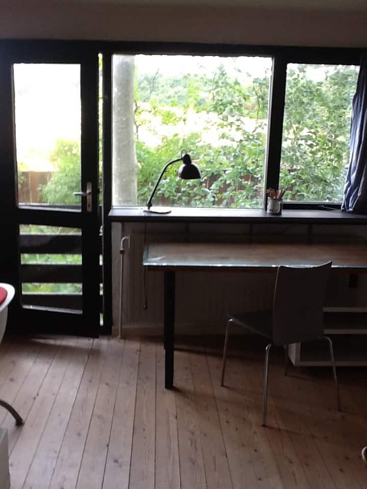 Dejligt værelse på Lille Kirstineborg