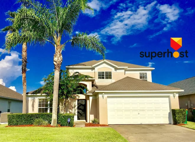 Lakeview 5Br/Private Pool/Gated Resort/near Disney