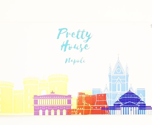Napoli Pretty house Santa Lucia