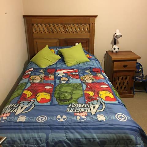 Dormitorios amoblados para turistas