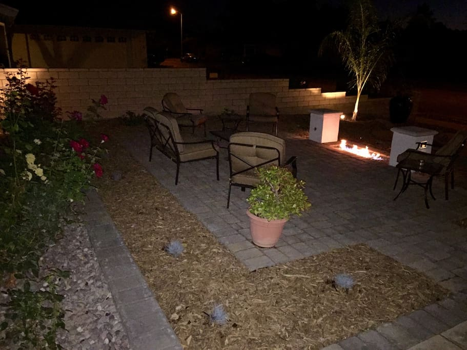 Fire Pit outdoor area