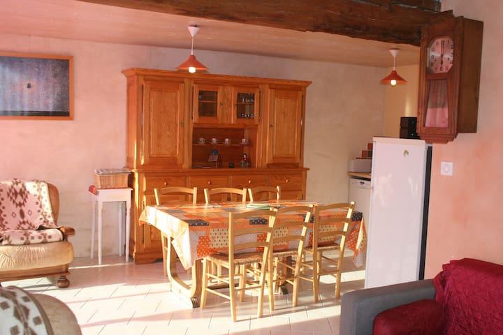 Gite Le Carrelet - Chambon - Naturstuga