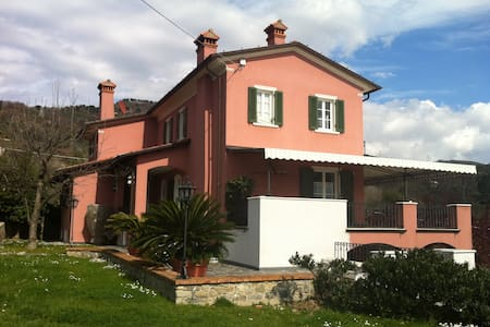 Villa Montefrancio with park near to the Beaches - Castelnuovo magra