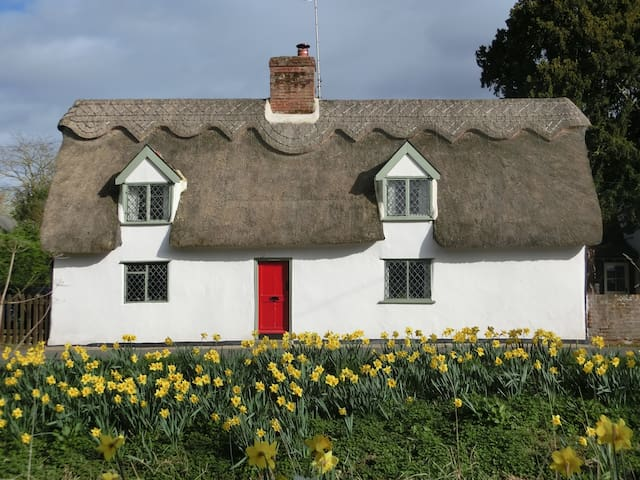 "16th Century ""Pear Tree Cottage"" at Dalham - Newmarket - Hus"