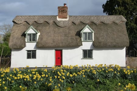 "16th Century B&B at Dalham ""Pear Tree Cottage"" - Newmarket - Bed & Breakfast"