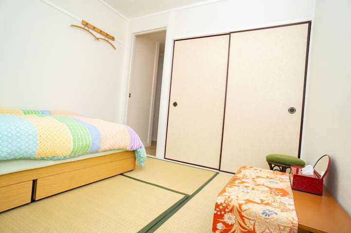 10 minutes by foot from Hiroshima station