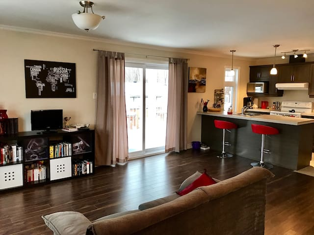 Spacious condo - 2 bedrooms - Ville de Québec - Квартира