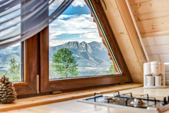 Domek apartament z widokiem na góry!! wakacje