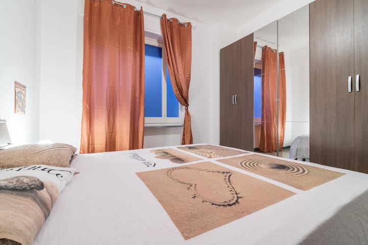 Comfortable flat 2m walk P. Yenne/Airport train - Cagliari - Appartement