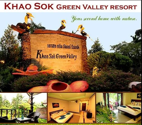 Khao Sok Green Valley Resort - Bed & Breakfast