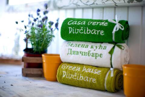 Zelena kuca ( Green house) ( Casa verde)