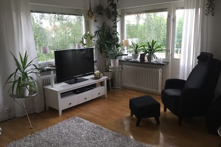 Cozy apartment close to biathlon and cross country ski stadium - Östersund - Apartament