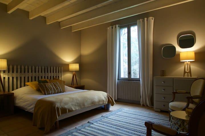 Chambre d'hôtes 2 à 4 pers dans maison de charme - Arjuzanx - Gæstehus