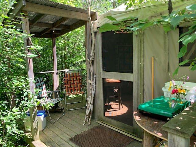 16' Off-Grid Yurt - The Bennett House