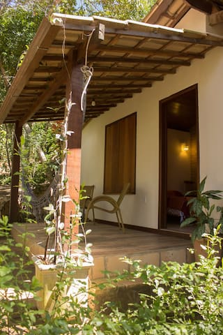 Suite com varanda em meio a natureza!